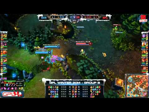 LMHT | Team GameTV vs YB 10-11-2013