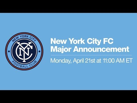 New York City FC Major Announcement