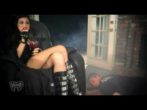 "Got Fangs Commercial by EVIL FILMS starring ""VAMPTRESS"" aka Evilrella for VAMP TV.com ""GOT FANGS?"""
