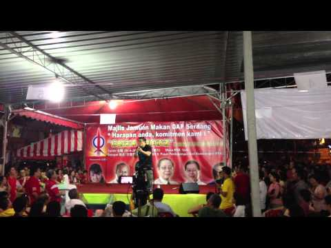 DAP Superman Speech @ Seri Kembangan on 20th April 2013