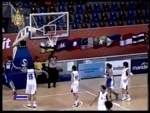 Thailand vs Philippine - 2011 Sea games women's basketball