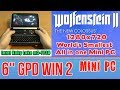 GPD WIN 2 Wolfenstein 2 II: The New Colossus - 256 GB SSD 8GB RAM Mini PC Intel m3-7Y30 HD 615