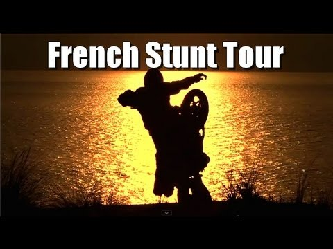Jorian Ponomareff in the dvd of French Stunt Tour