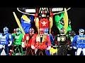 Legendary Megazord, Morpher, Ranger Key Review! (Power Rangers Super Megaforce)