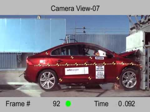 Crash Test 2012 - Volvo S60 / V60 (Frontal Impact) NHTSA