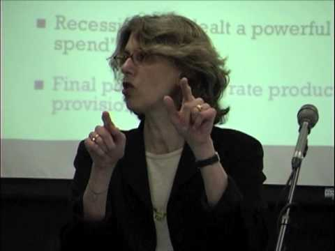 Juliet Schor on What is Sustainable Consumption? - No Growth Roundtable, May 2010