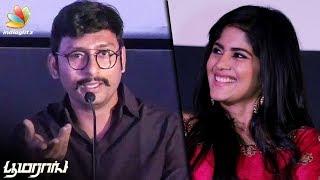 என்னோட LKG படத்துக்கு இவர்தான் காரணம் : RJ Balaji Speech | Boomerang Audio Launch | Trailer