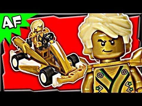Ninjago Golden Ninja Wallpaper Lloyd Gold Ninja go Kart