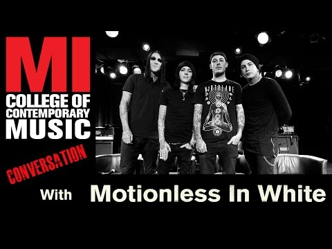 Motionless In White Conversation at MI