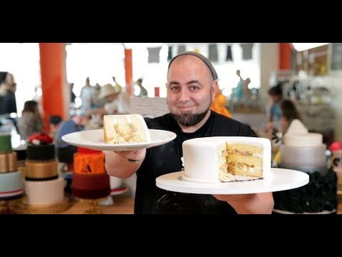 Duff Goldman's Secrets to the Perfect Layer Cake   Celebrity Chef   Food How To