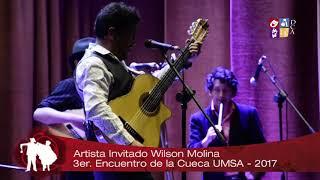 Wilson Molina en el 3er. Encuentro de la Cueca UMSA - 2017