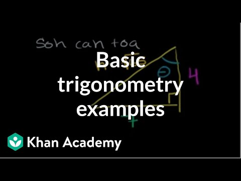 Basic Trigonometry II