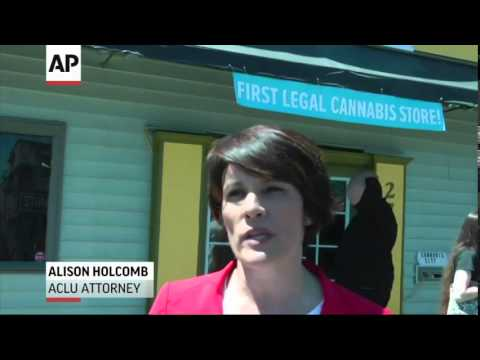Washington State's First Legal (Marijuana) Sales  7/8/14
