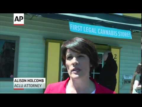 Washington State's First Legal (Marijuana) Sales  7/8/14