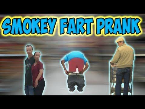 Smokey Fart Prank