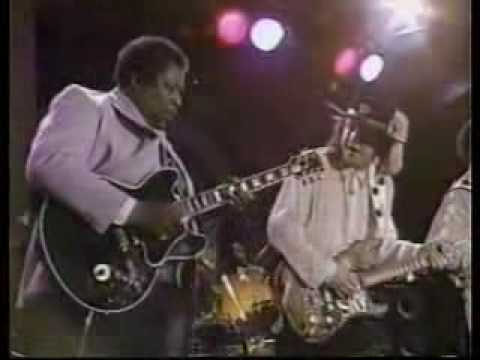 Stevie Ray Vaughan, BB King & Albert Collins - New Orleans 22 04 1988 Texas Flood