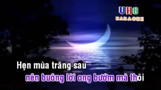 Hẹn mùa trăng sau karaoke ( only beat )