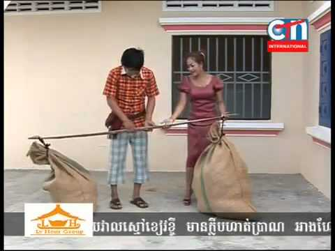 Khmers Talking Funny = 2 Cambodia TV News Phnom Penh City  CTN