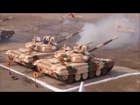 भारतीय सैन्याची थरारक युद्धप्रात्यक्षिके