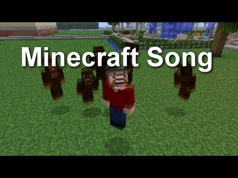 The Minecraft Song ( Parody to Bruno Mars – Lazy Song )