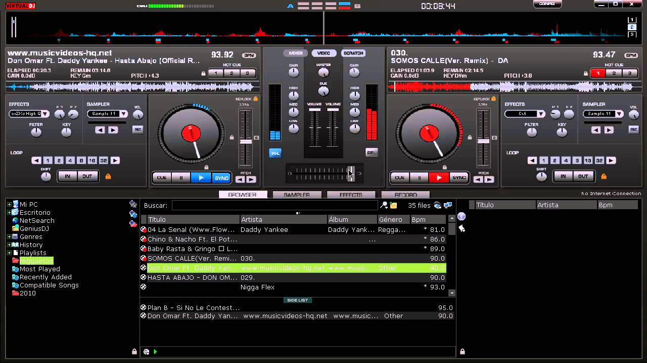 descargar samples de reggaeton para virtual dj 7