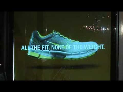 NIKE - Footlocker Lunalite ELP animated EL bus shelters