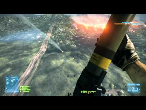 BF3 - How to take out a Helicopter with Style