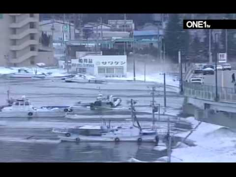 japan earthquake 2011 tsunami footage of massive waves destruction in japan