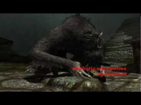 Skyrim realistic werewolves mod - Sounds updated