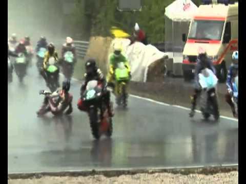 Crash - accidente șocante biciclete