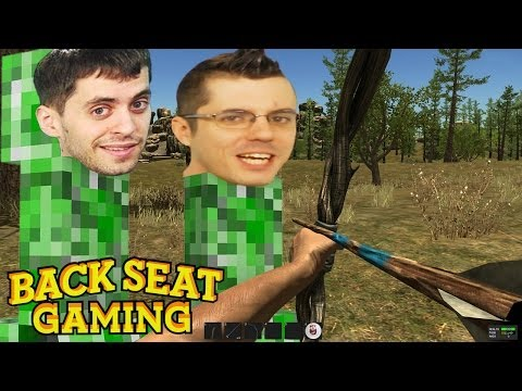 HUNTING IN ADULT MINECRAFT (Backseat Gaming)