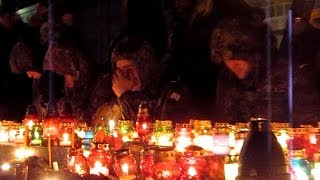 Тысячи житомирян почтили память «Небесной сотни»