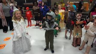 The Winners of the Criswell Elementary School Halloween Costume Contest