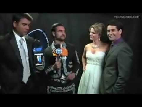 Sonya Smith, Gabriel Porras y Jorge L. Pila en una entrevista super simpatica ;)