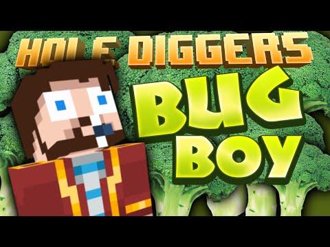 Minecraft - Bug Boy - Hole Diggers 50