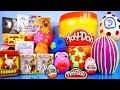 Surprise Eggs Play Doh Kinder Kidrobot Simpsons Disney Vinylmation Toys Playdough Playset Bucket