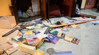 エジプト・反大統領派の襲撃を受けたムスリム同胞団本部
