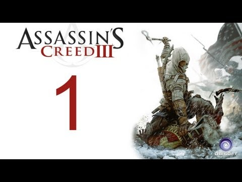 Assassin's creed 3 walkthrough - part 1 HD Gameplay AC3 assassins creed 3 (Xbox 360/PS3/PC) [HD]