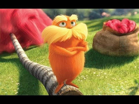 Dr. Seuss The Lorax - Movie Review - YouTube
