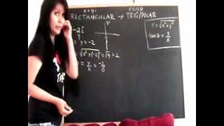 Writing Complex Numbers in Polar and Rectangular Forms - YouTube