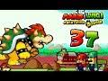 Let's Play Mario & Luigi Abenteuer Bowser Part 37: Feuriger Kampf gegen den Krankexpress