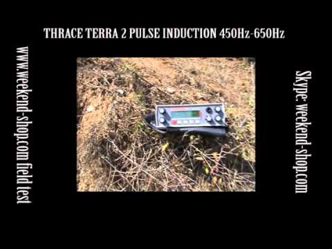 THRACE TERRA 2 PULSE INDUCTION METAL DETECTOR DISCRIMINATOR