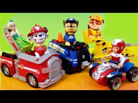 NEW Paw Patrol Dog Toys Nickelodeon Nick Jr Rubble Bulldozer Marshall Firetruck Chase Ryder ATV