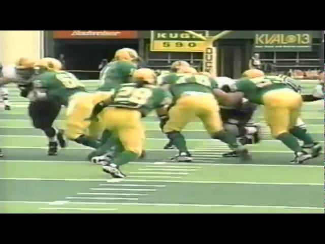 Oregon WR Donald Haynes 15 yard reception vs. ASU 11-14-1998
