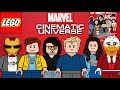 Lego Marvel Cinematic Universe moc minifigure series!!!