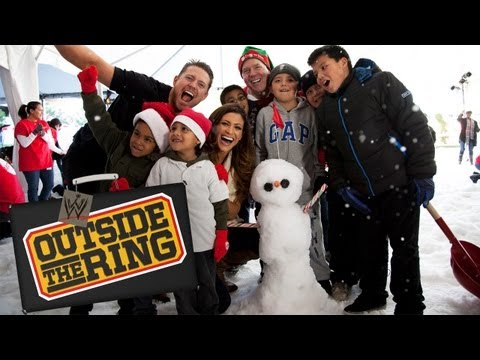 """The Miz and Eve build AWESOME snowmen - """"Outside the Ring"""" - Episode 28"""