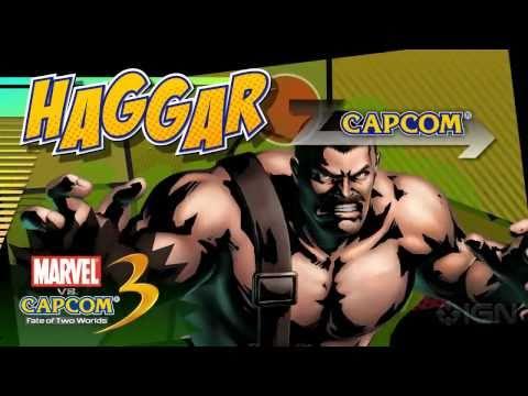 Marvel vs. Capcom 3: Haggar Reveal Trailer
