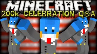Minecraft - 200k CELEBRATION Q&A!! TOP 5 MOST ASKED QUESTIONS!!
