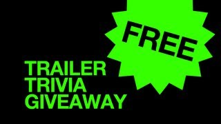 Movie Trailer Trivia Giveaway - FREE Blu-Ray Contest! - HD