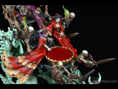 How to paint the Coven Throne? Warhammer Fantasy Vampire Counts | Buypainted